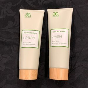 Rescue and Renew lotion and wash!